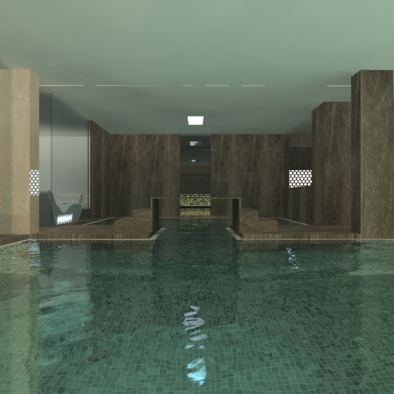 render, nuova spa, atlantic park hotel