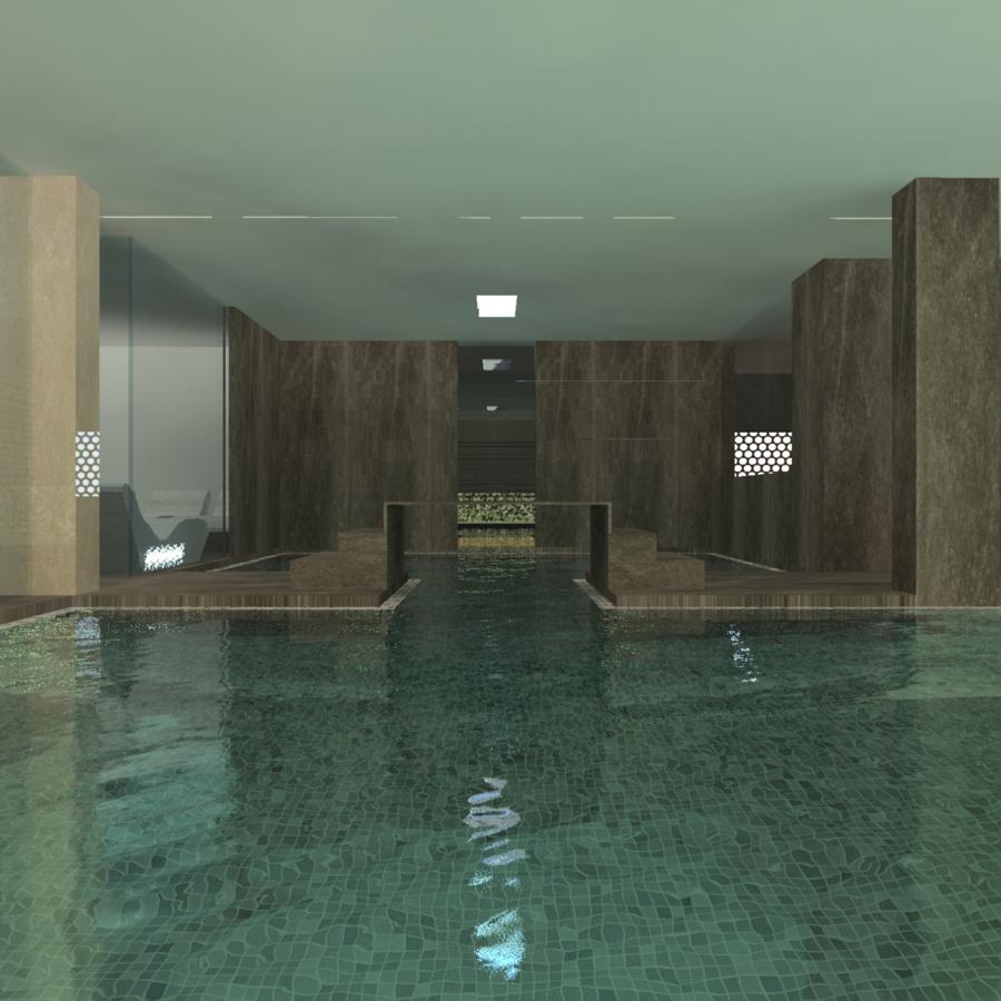 render, nuova spa, atlantic park hotel