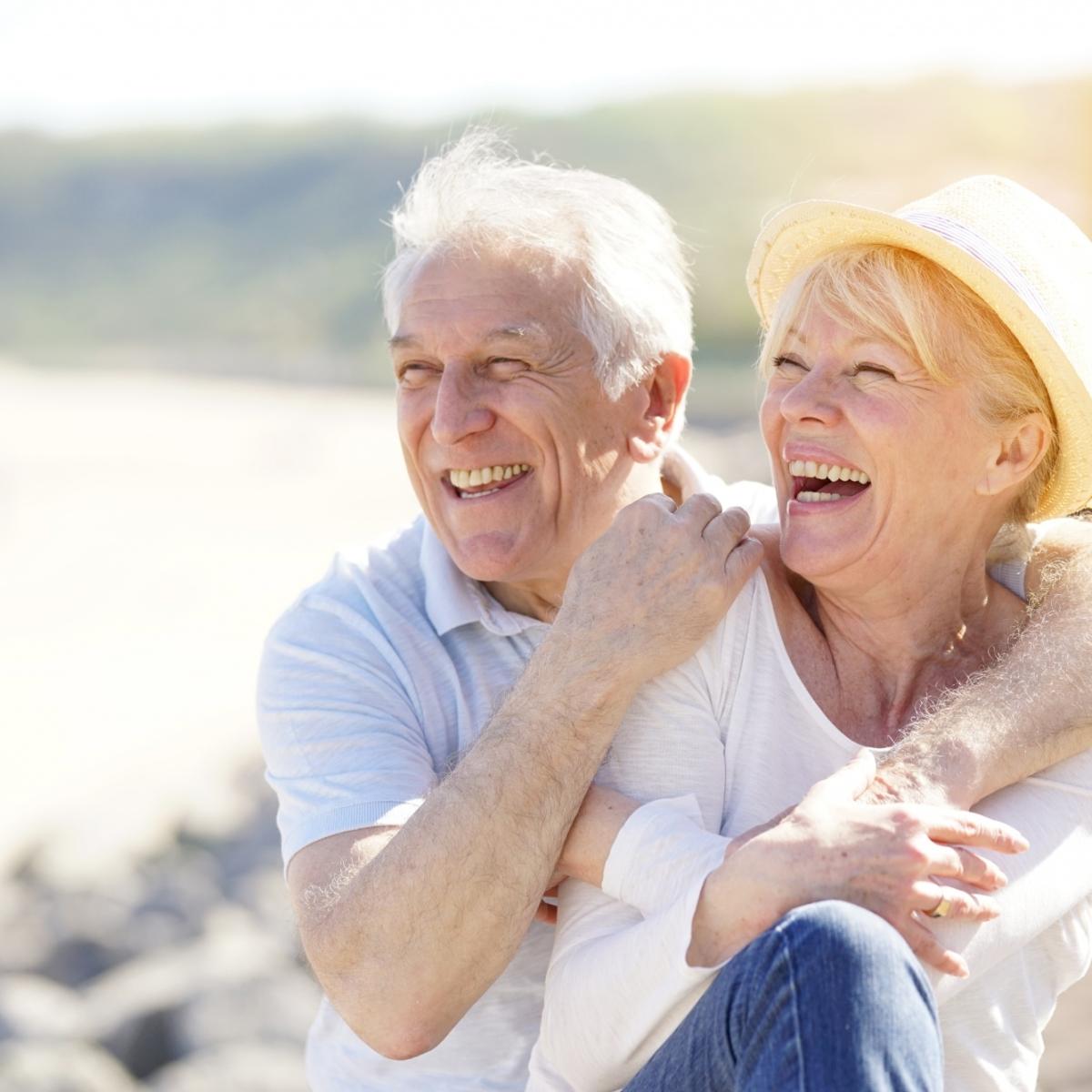 Nonni e anziani in vacanza