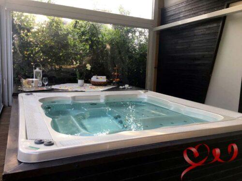 jacuzzi vasca idromassaggio day spa romantico