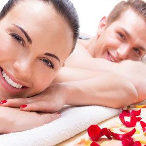 Massaggio rilassante di coppia